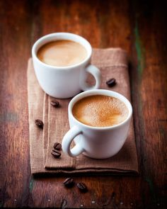 A photo of two cups of cappuccino leave a warm and fuzzy feeling.,mugs, cappuccino, coffee But First Coffee, I Love Coffee, Best Coffee, Coffee Break, My Coffee, Morning Coffee, Coffee Creamer, Coffee Mugs, Coffee Cafe