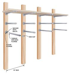 Shelving or lumber storage
