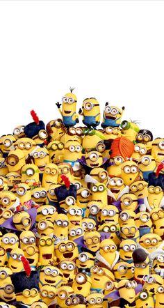 Minions - Funny minion, Minions quotes, Minion banana, Minion wallpaper, Despicable me 2 Amor Minions, Cute Minions, Minion Movie, Minions Despicable Me, Minions Quotes, Funny Minion, Minion Banana, Minion Wallpaper Iphone, Funny Wallpapers