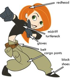 Costume Ideas - Halloween / Cosplay Calling all kids: who wants to dress up as Kim Possible or R Kim Possible Halloween Costume, 90s Halloween Costumes, 90s Costume, Halloween Cosplay, Halloween 2019, Cosplay Costumes, Halloween Party, Zombie Costumes, Group Halloween