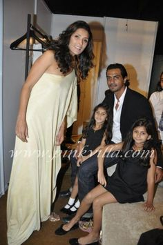 Arjun Rampal n Family