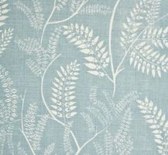 Chiara in Sky Blue from Lisa Fine Textiles #fabric #linen #blue