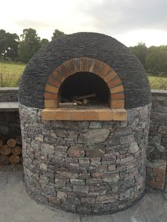 Pizza oven in my back garden, achilty stone, highland Scotland.