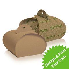 Trinket Favor & Gift Box Kraft 12 Pack por zumibox en Etsy, $9.95