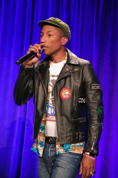 """A """"Happy"""" Night on Wall Street: Pharrell Williams and Co. Celebrate the Gordon Parks Foundation, Look #8"""
