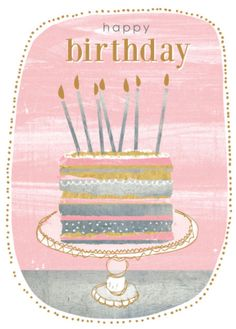 Cake Illustration Birthday Fun 56 Ideas For 2019 Birthday Blessings, Birthday Wishes Cards, Vintage Birthday Cards, Happy Birthday Quotes, Happy Birthday Images, Happy Birthday Greetings, Birthday Messages, Birthday Pictures, Birthday Fun