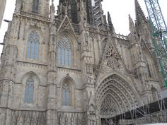 Barcelona, Spain  (Gothic structure took around 150 years to build....8th century)