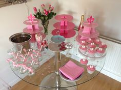Baby Shower Pink Afternoon Tea Theme