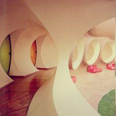 "Pierre Cardin - ""The Palais Bulles"" 1975-89 | Futuristic Furniture www.lecastingparisien.com"