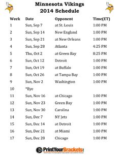 printable san diego chargers schedule 2014 football season my
