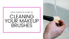 Your Complete Guide to Cleaning Your Makeup Brushes — Jess Gaertner Charcoal Bar, Foundation Application, Makeup Brush Cleaner, Wet Brush, Putting On Makeup, Clogged Pores, Skin Routine, Free Makeup, Makeup Yourself