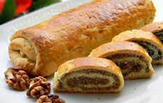 Bread Recipes, Cake Recipes, Cooking Recipes, Pastry And Bakery, Food Cakes, Hot Dog Buns, Sausage, Food And Drink, Sweets