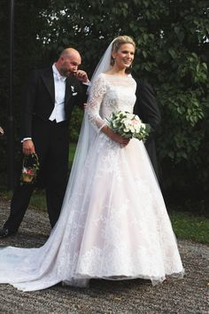 royalwatcher:  Wedding of Vicky Anders and Gustaf Magnusson, eldest son of Princess Christina of Sweden and her husband Tord Magnusson, August 31, 2013.