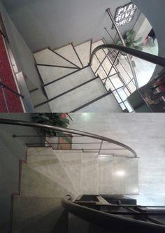Σκαλοπάτια από κόντρα πλακέ θαλάσσης στο  HACIENDA CAFE