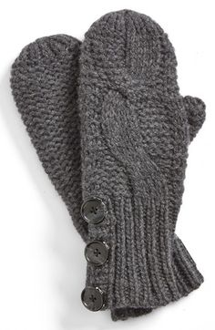 Lole Cable Knit Mittens available at #Nordstrom