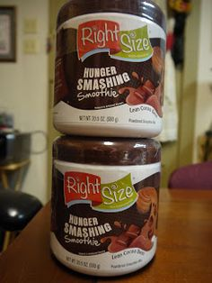 At the Fence: RightSize Hunger Smashing Smoothie