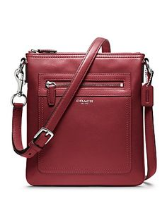 COACH Legacy Leather Swingpack | Bloomingdale's