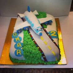 Airplain#birthday #cake#