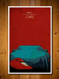 Disney Pixar's  Cars 11X17 Movie Poster by posterexplosion on Etsy, $18.00