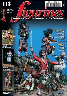Voici malheureusement un collector, le dernier numéro de la revue Figurines fondée en 1994...