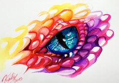 Dragon Eye by Lucky978.deviantart.com on @deviantART