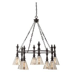 Savoy House Darian 8 Light Chandelier - 1-4900-8-02