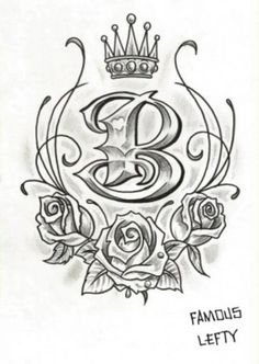 1000 images about tattoos on pinterest letter b octopus tattoos and crown tattoos. Black Bedroom Furniture Sets. Home Design Ideas