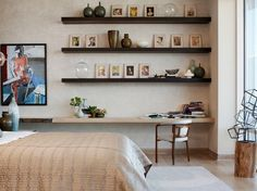 Wall-mounted shelves are excellent for maximizing your storage space anywhere in the house. Thanks to their simplicity and versatility, they can be installed in any room without exceptions. But you need more than just some free space on a wall to make this system work. First let's review the main elements you need to