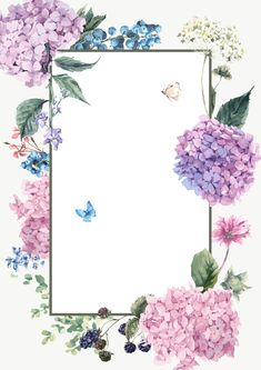 Vector fresh flowers hand-painted watercolor background square box Source by nuraymede. Flower Background Wallpaper, Frame Background, Flower Backgrounds, Background Pictures, Wallpaper Backgrounds, Background Designs, Wallpaper Borders, Frame Floral, Flower Frame