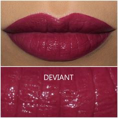 NARS Velvet Lip Glide in Deviant - Review and Swatch