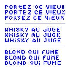 Modular Typeface on Behance