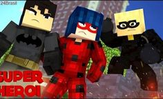 Minecraft : SUPER-HERÓI - CAT NOIR DESCOBRIU SOBRE A LADY BUG #67