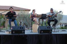 tocando en el concierto de Alejandro Fernandez El cielo vinicola Ensenada