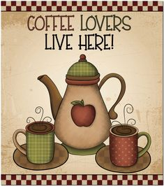 Fridge Magnet - Coffee Lovers Live Here! Best 3d Printer, Aquaponics Plants, Cheap Pendant Lights, Country Paintings, How To Treat Acne, Watering Can, Home Remedies, Whitening