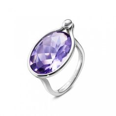 Georg Jensen Amethyst ring     Stock code: 144989 If your graduate likes something a little more eye-catching and bold, Georg Jensen has a beautiful Amethyst ring which offers a kaleidoscope effect when the light hits the jewellery.  We can order in sizes if you are after a particular size or colour.