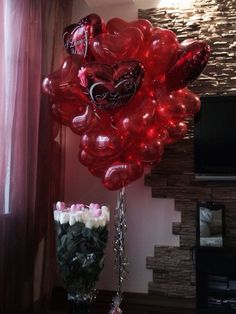 Birthday Goals, Birthday Wishes, Girl Birthday, Birthday Parties, Valentines Gifts For Her, Valentine Day Love, Balloon Pictures, Romantic Surprise, Romantic Gestures