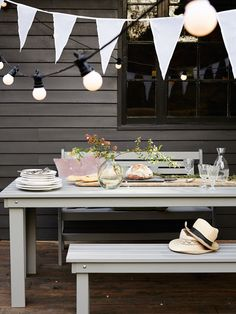 Provence Outdoor Dining Set | Cox & Cox Perfect for those warm spring/summer days and nights