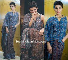 Samantha Prabhu in Vrisa by Rahul n Shikha