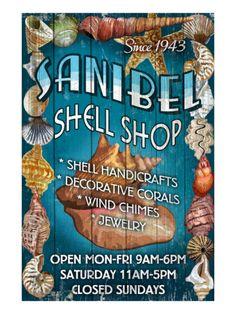 Shell Shop - Sanibel, Florida