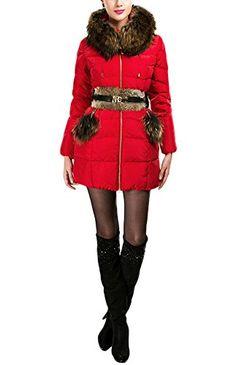 Simplechic Women's Winter Vintage Slim Fit Raccoon Fur Hooded Lanugo Coat  http://www.yearofstyle.com/simplechic-womens-winter-vintage-slim-fit-raccoon-fur-hooded-lanugo-coat/
