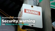 Here's what you can do to protect yourself from the KRACK WiFi vulnerability