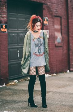Parka – ASOS Tee – similar here and here Tights – HUE Thigh high boots – Kendall and Kylie Necklace – Dylanlex x Rachel Zoe Shop the look below: Hello guys, its mother friggin 2017. Thank god honestly. 2016 has been such a messed up crazy year and I am glad its over and very excited. Even... View Article