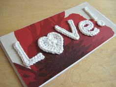 I love mixing up my different crafty hobbies; this one's card making and crochet. This is the card I made for my parents wedding anniversary last week. It is based on one I made a while ago, but I…