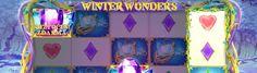 Magický zasněžený les plný vil se vám naskytne možnost najít cestu za svými poklady roztočením pěti válců hracího video automatu Winter Wonders. http://www.hraci-automaty.com/hry/vyherni-automaty-winter-wonders #automatyonline #vyhra #winterwonders
