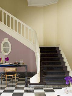 Levis ambiance watmijnmurenvertellen cequemesmursdisent ambiance mur extra mat beige ivoire - Betegelde badkamer chocolade beige ...