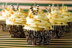 Cupcakes con caramelo