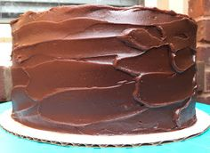 Classic Browned Butter Vanilla Cake with Fudgy Chocolate Frosting