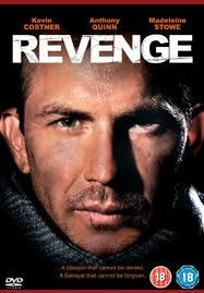 """Revenge (1990) -- with Anthony Quinn, Madeleine Stowe, Miquel Ferrer -- Michael """"Jay"""" Cochran has just left the Navy after 12 years. He's not quite sure what he's going to do, except that he knows he wants a holiday. He decides to visit Tiburon Mendez, a ..."""