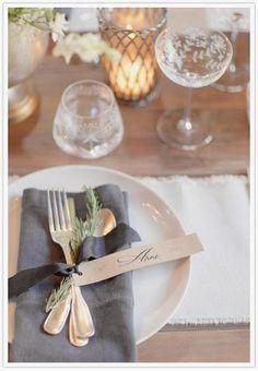 Etiquetas personalizadas para tu mesa | Decorar tu casa es facilisimo.com
