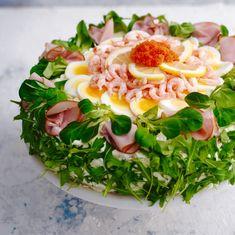 Savory cakes without measuring - Clean Eating Snacks Sandwich Torte, Rhubarb Cake, Fresh Figs, Rhubarb Recipes, Salty Cake, Almond Cakes, Savoury Cake, Kids Nutrition, Seaweed Salad